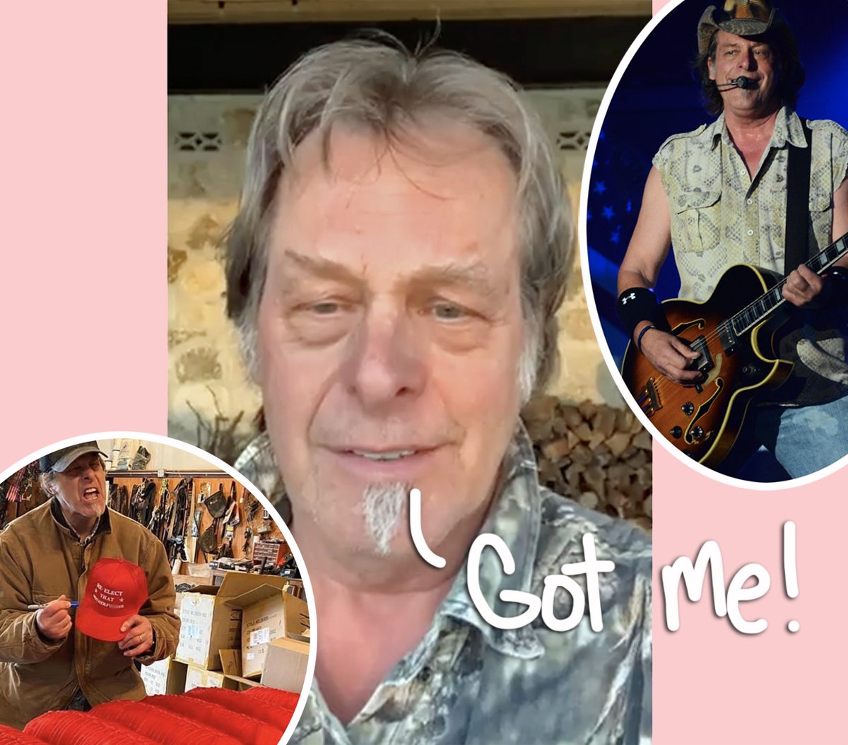COVID Denier Ted Nugent Tests Positive But Continues To Dismiss It Even While Sick!