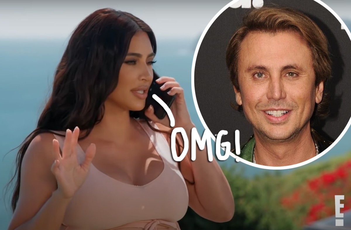Watch Kim Kardashian Help Bestie Jonathan Cheban Stay Calm After He Was Robbed