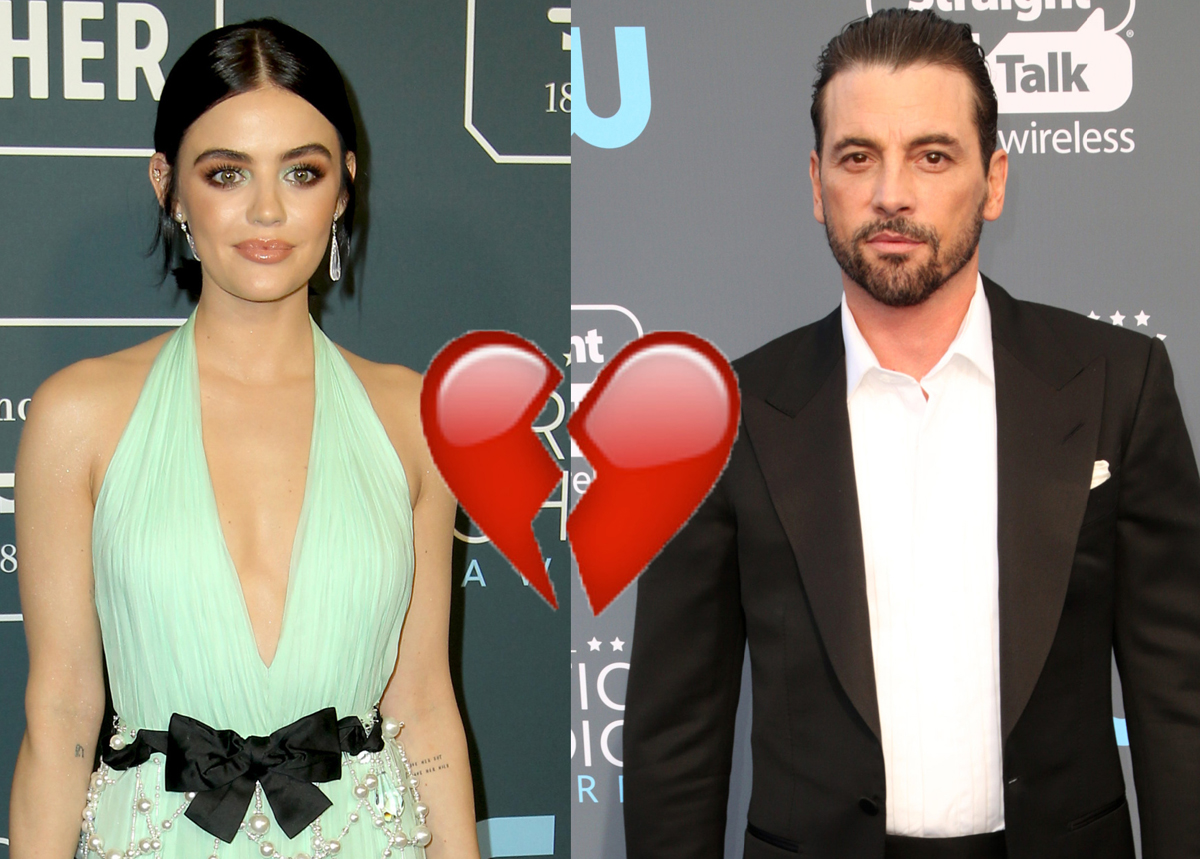 It's OVER! Lucy Hale & Skeet Ulrich Broke Up After Just One Month Of Dating