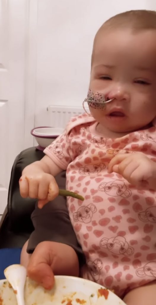 Azaylia Eats For 'First Time' In Weeks Amid Devastating Cancer Battle