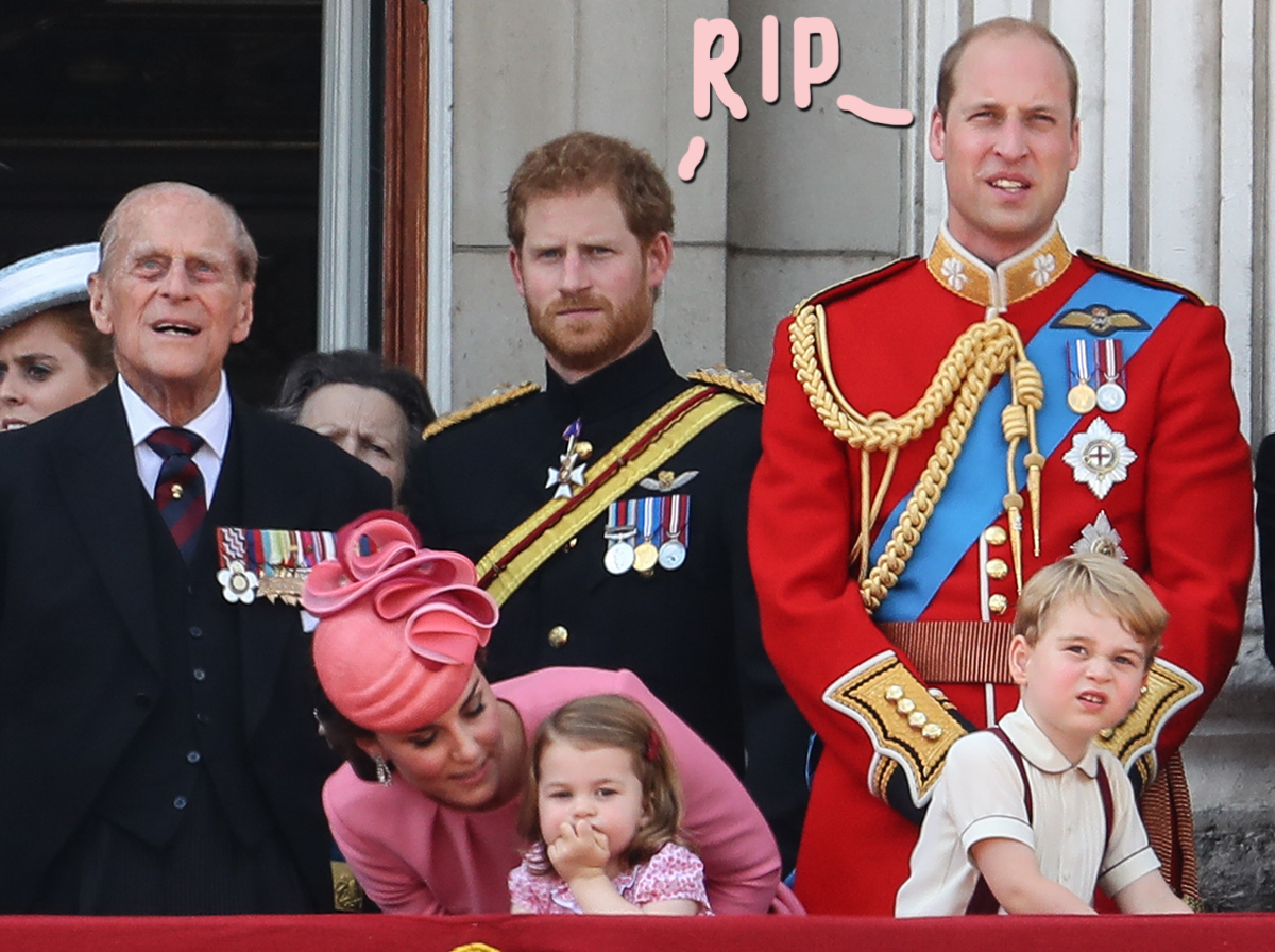 Prince William & Prince Harry Release Statements On Prince Philip's Passing