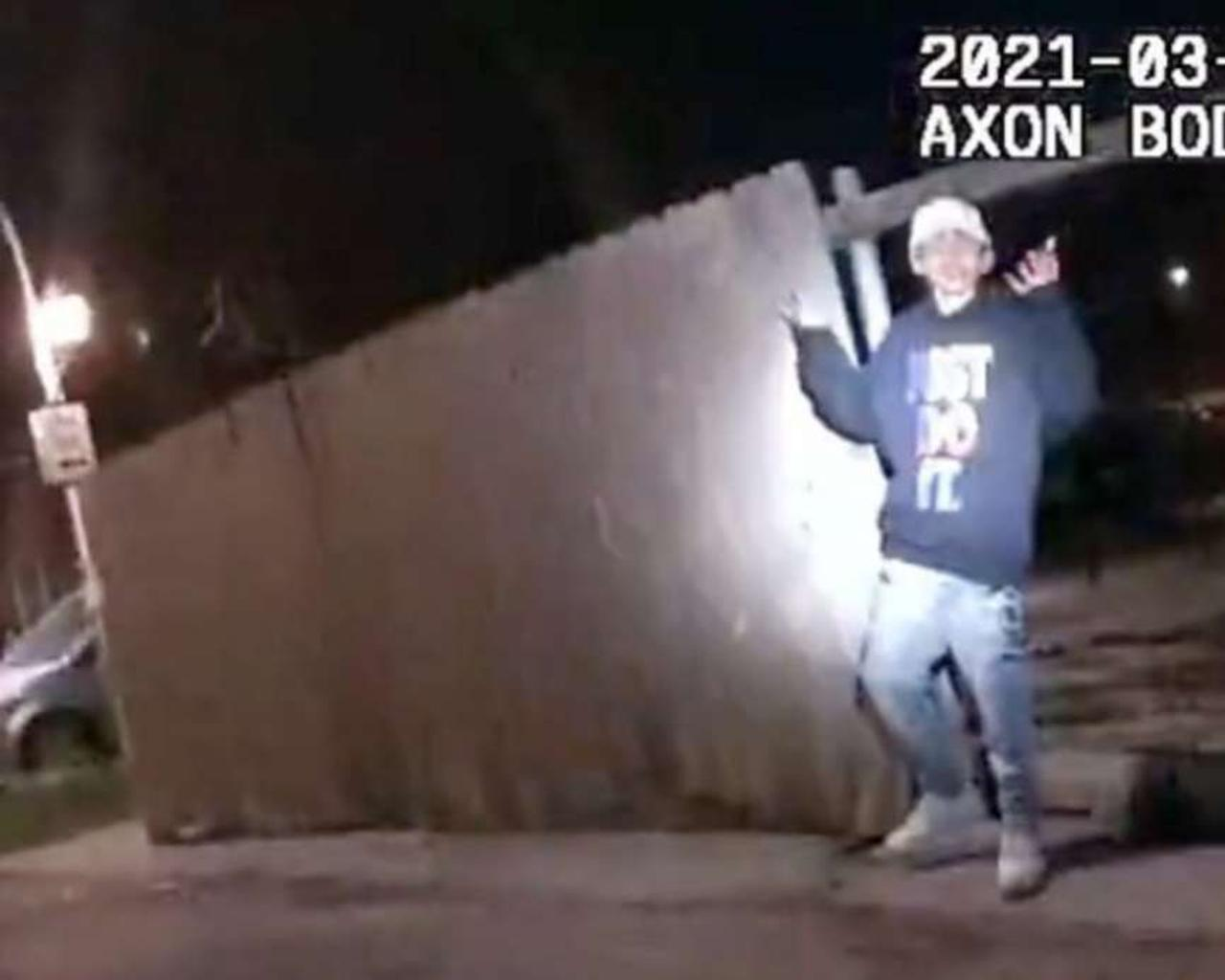 Adam Toledo case: Chicago police released the video where an officer shot the boy
