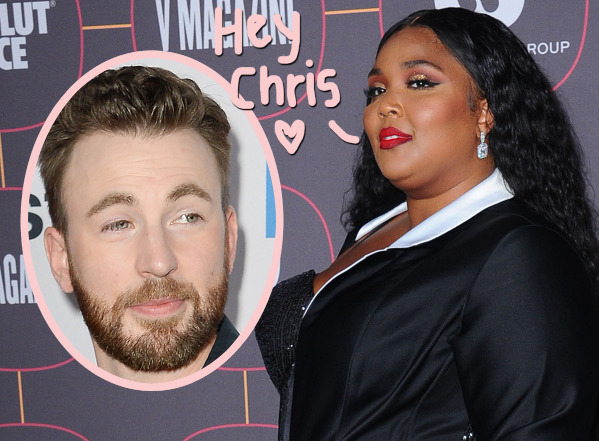 Lizzo Drunkenly Slides Into Chris Evans' DMs -- See His Response!