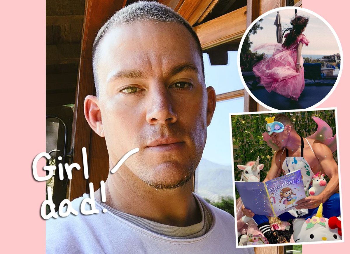 Channing Tatum Reveals How He Overcame His Fear Of Being A Girl Dad: 'I Paint My Face, I Wear Tutus'