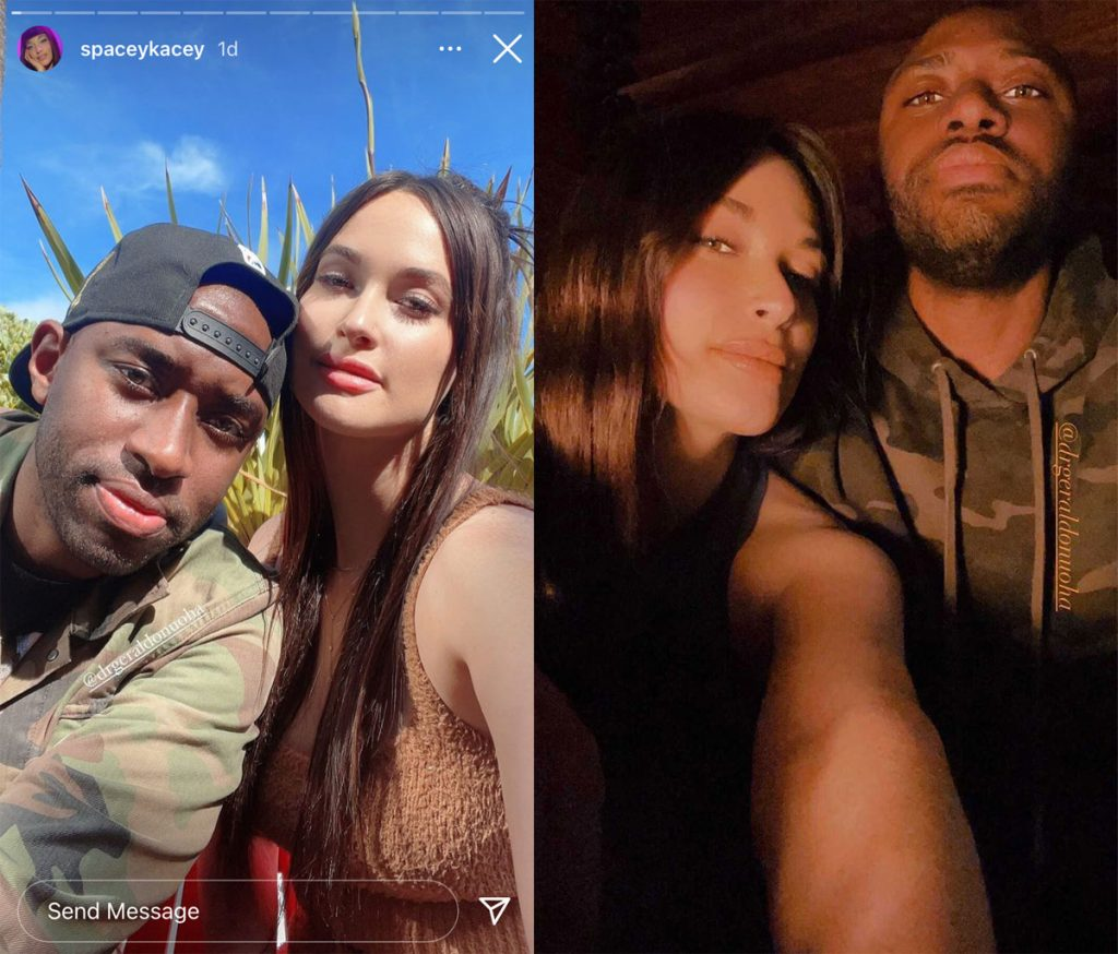 Kacey Musgraves shows off her rumored new boyfriend, Dr. Gerald Onuoha!