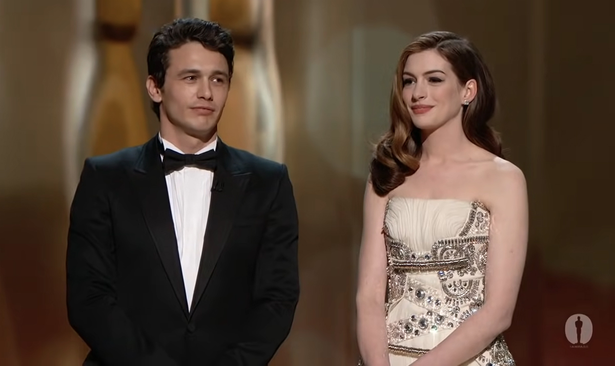 James Franco & Anne Hathaway LEGIT Hated Each Other While Hosting The Oscars -- LOTS Of New Tea Spilled!