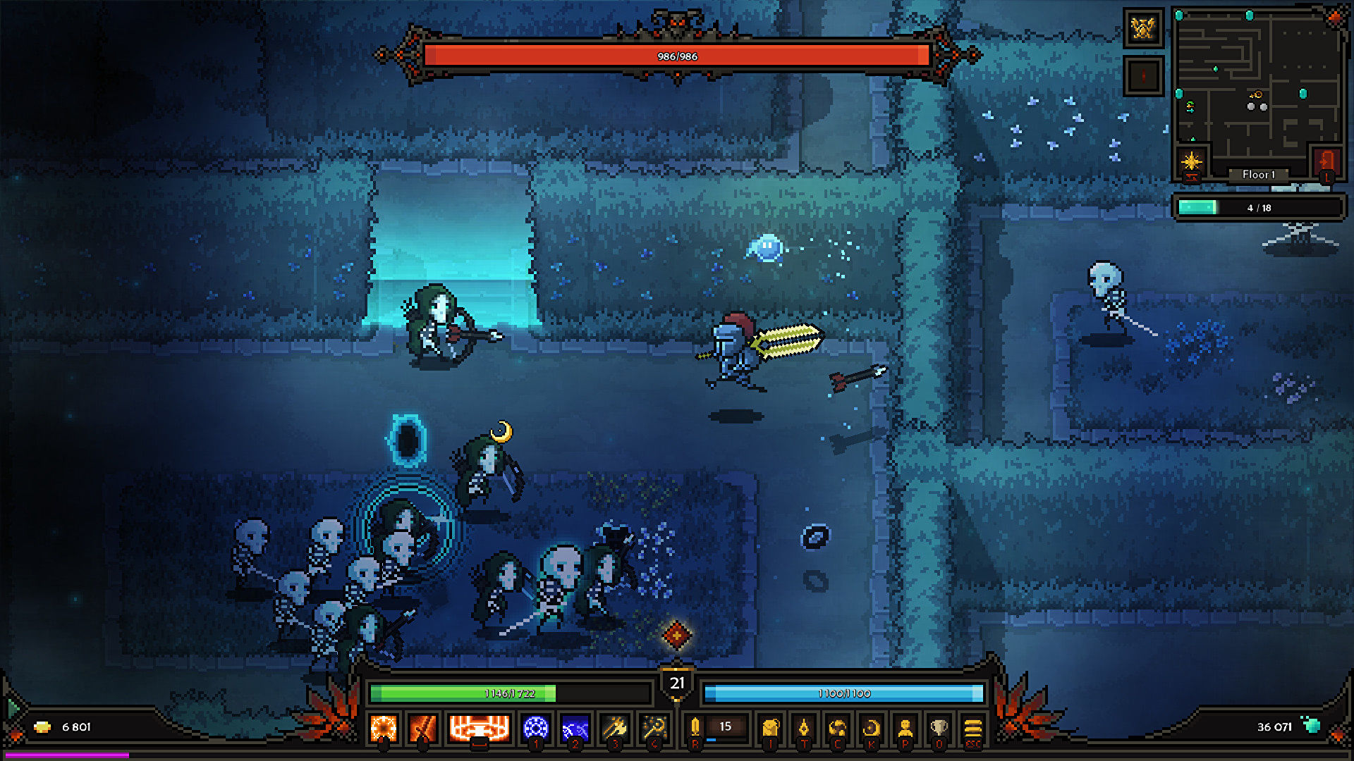 Hack and slash dungeon crawler The Slormancer launches in early access