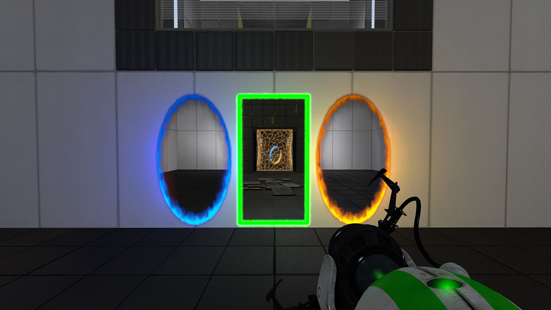 The Portal Reloaded mod adds a time travel portal and 25 new puzzles