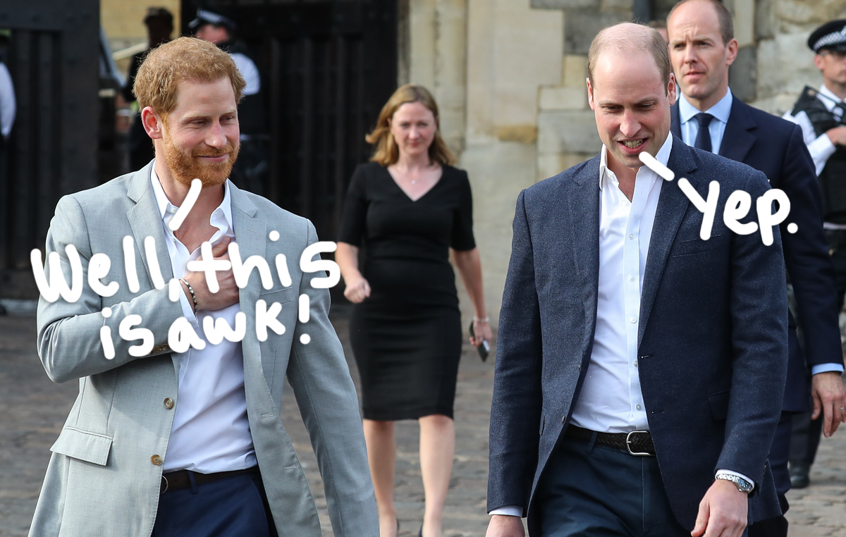 Prince Harry & Prince William Reportedly Plan To Walk 'Shoulder-To-Shoulder' At Prince Philip's Funeral