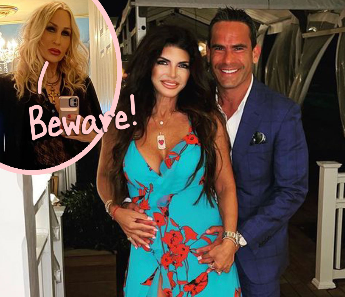 Former RHONJ Star Spills A LOT Of Shocking Tea About Teresa Giudice's New Boyfriend! Whoa!