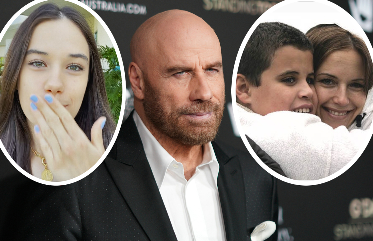 John Travolta Pays Tribute To Late Son Jett On His First Birthday Since Losing Kelly Preston