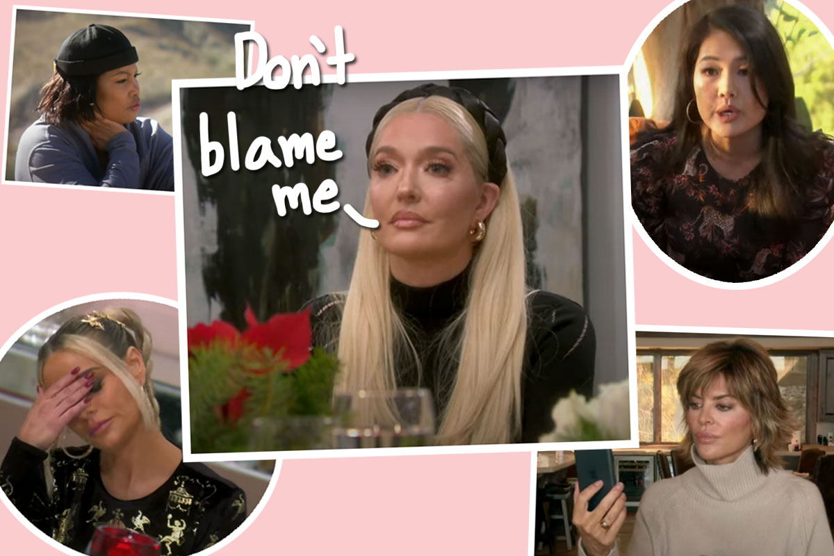Erika Jayne Gets Absolutely GRILLED About Her Divorce In Dramatic RHOBH Season 11 Trailer!