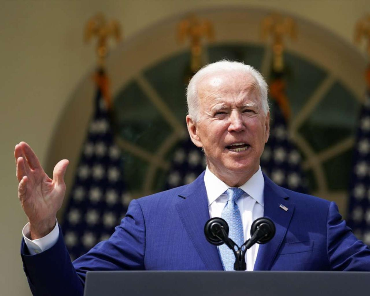 Joe Biden announced that the US would complete the withdrawal of its troops from Afghanistan