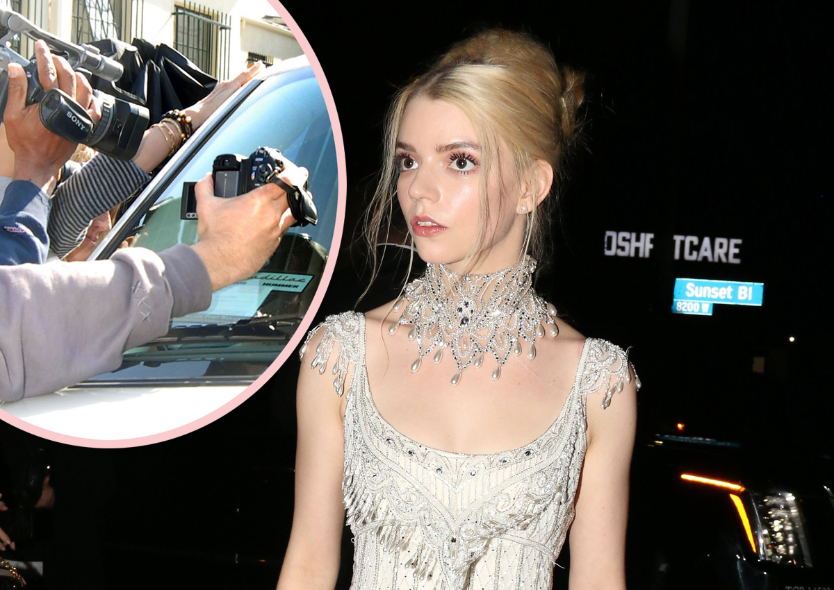 Paparazzi Actually Got Into A FIGHT Over Anya Taylor-Joy!