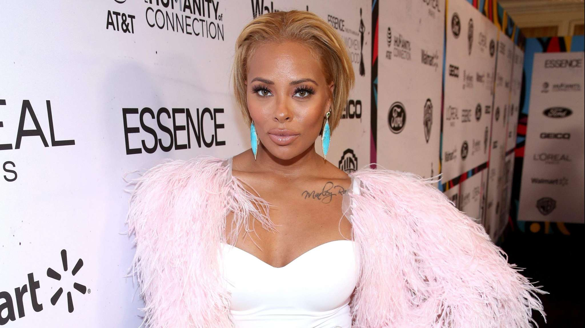 Eva Marcille Flaunts A Change Of Look And Fans React