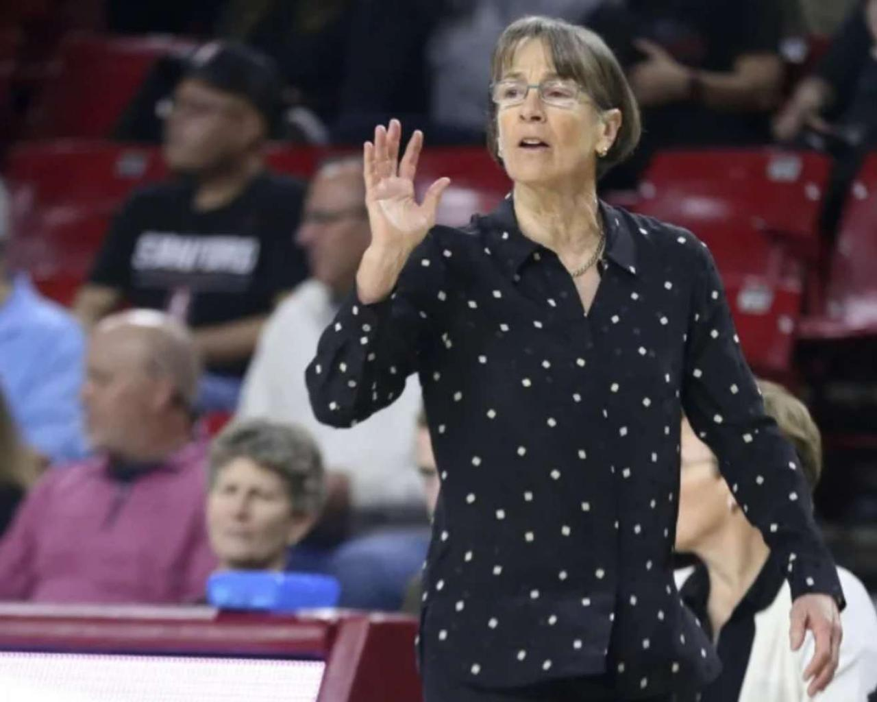 VanDerveer (Stanford's) is entitled Naismith Coach of the Year.