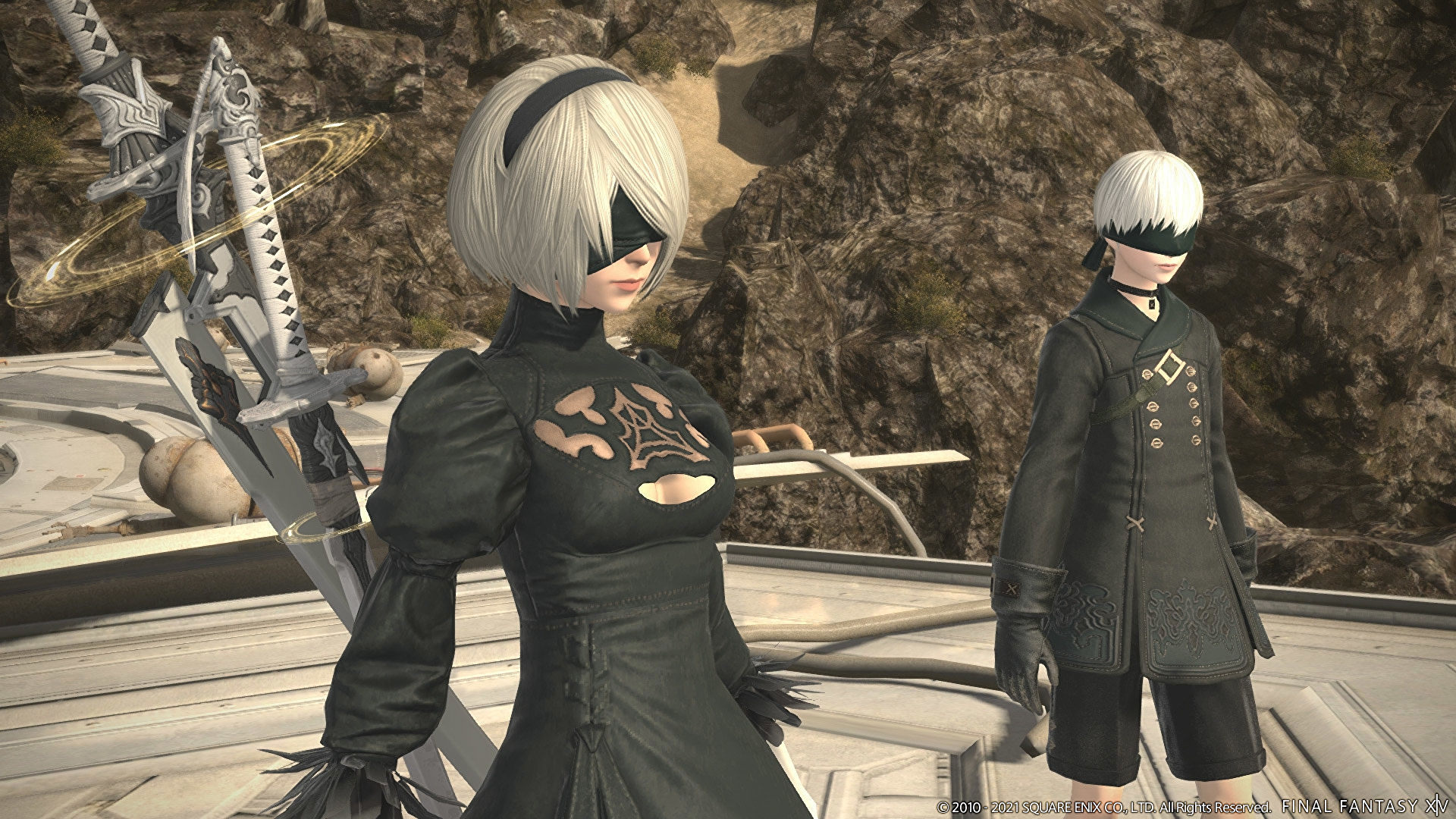 Final Fantasy XIV's patch 5.5 trailer shows Nier: Automata crossover