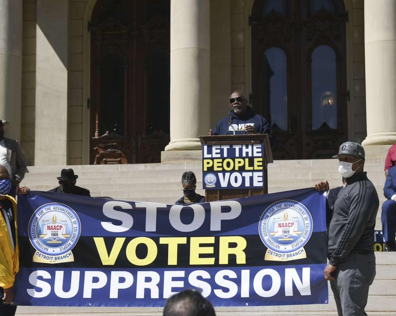 'Shameless': Texas Republicans lead the charge on voting clampdown