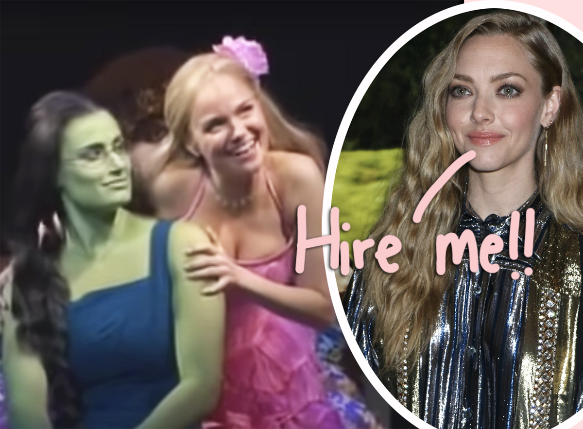 Amanda Seyfried Is NOT Ashamed Of How Thirsty She Is For A Role In The Wicked Movie!