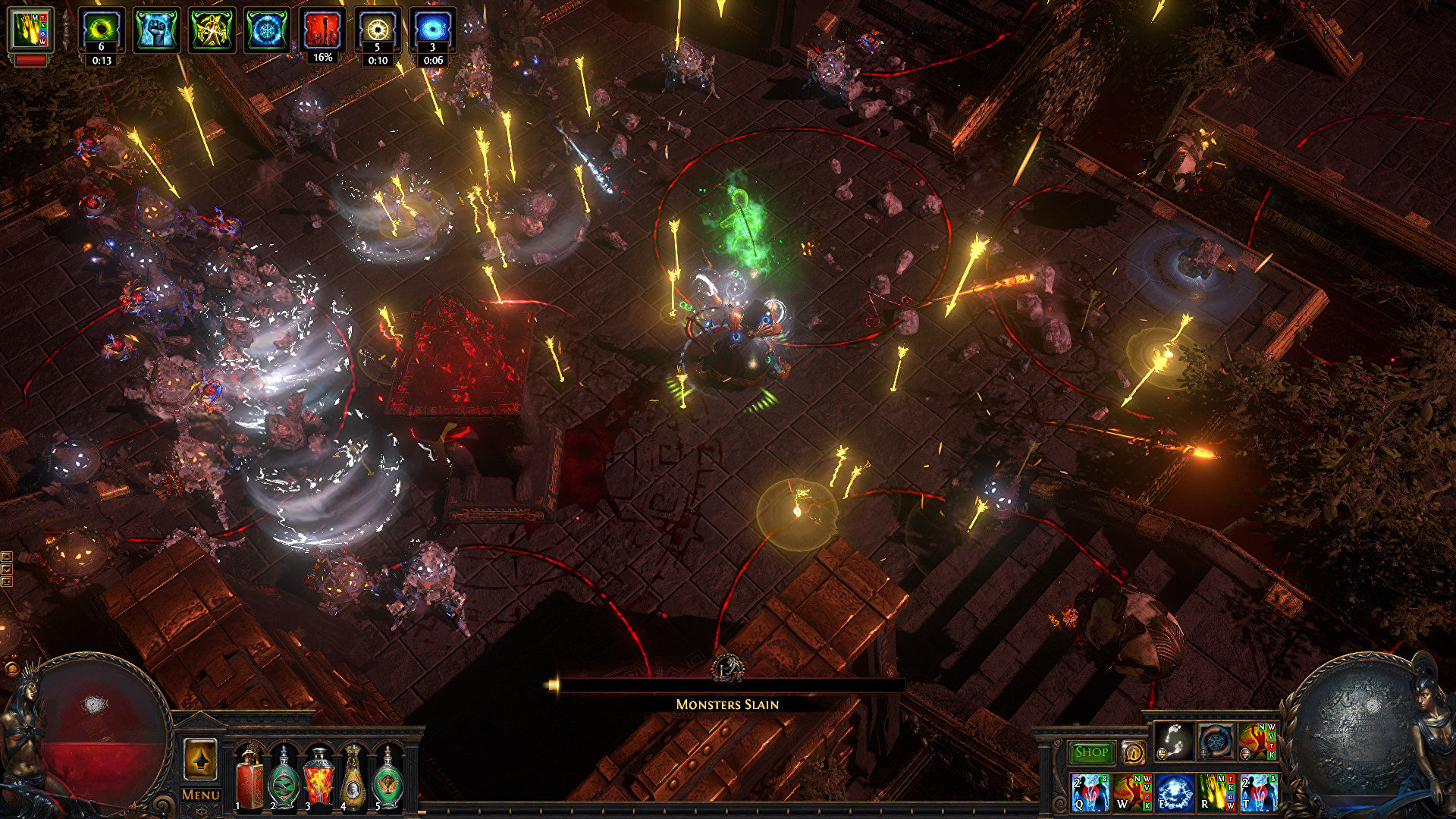 Path Of Exile's next expansion welcomes you to the Trialmaster's game show
