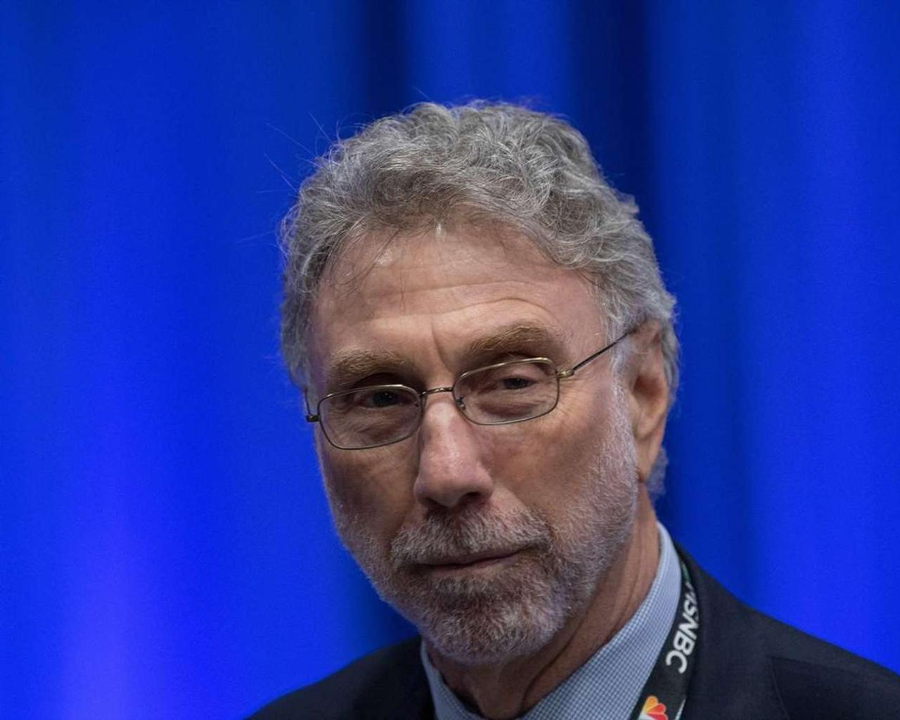 """Washington Post editor Marty Baron with our nation's """"voice of resurrection"""""""